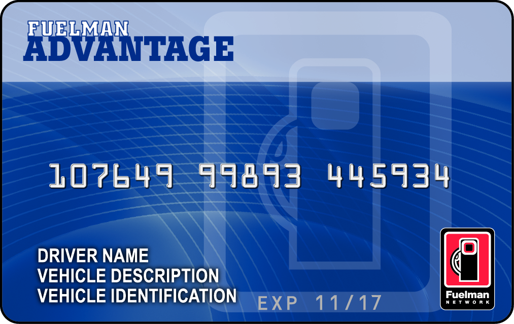 Fuelman advantage card