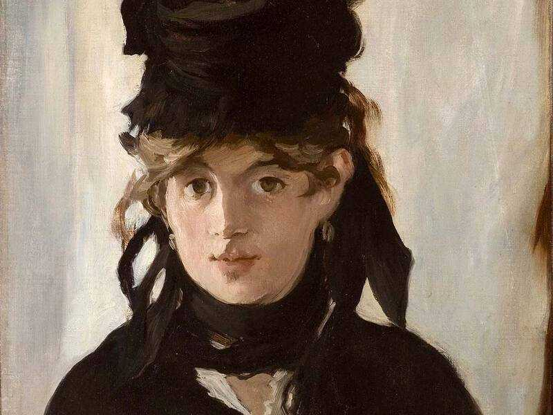 Manet painted Berthe Morisot, with whom he appears to have fallen in love, on a number of occasions.