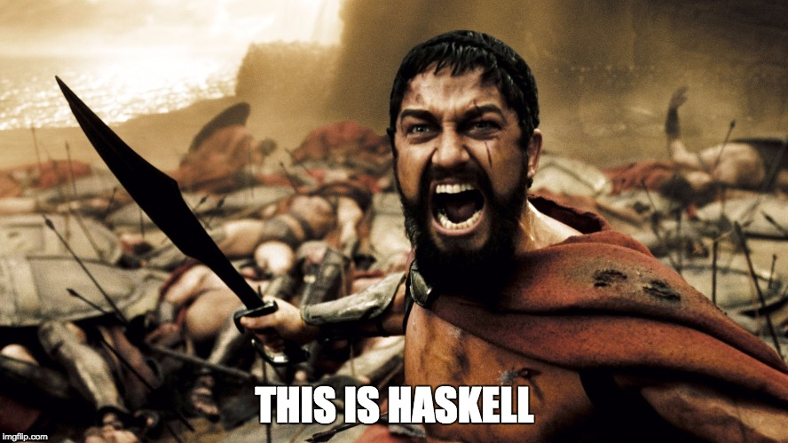 This is Haskell
