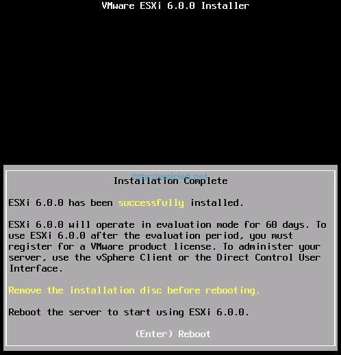 Nested ESXi 6.0 installation - 10