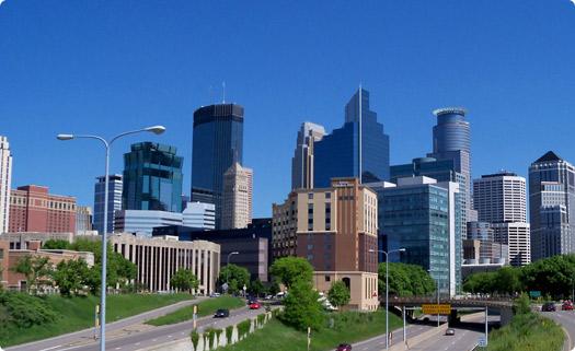 Saint Paul, Minnesota Skyline