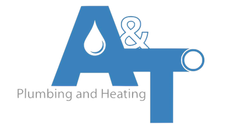 A & T Plumbing and Heating Logo