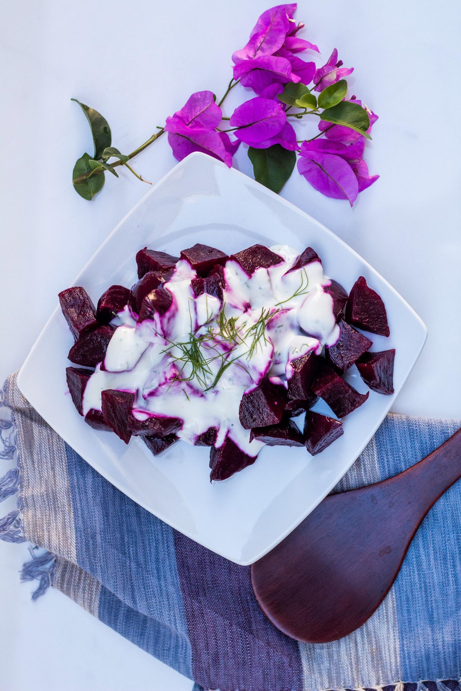 Greek beets