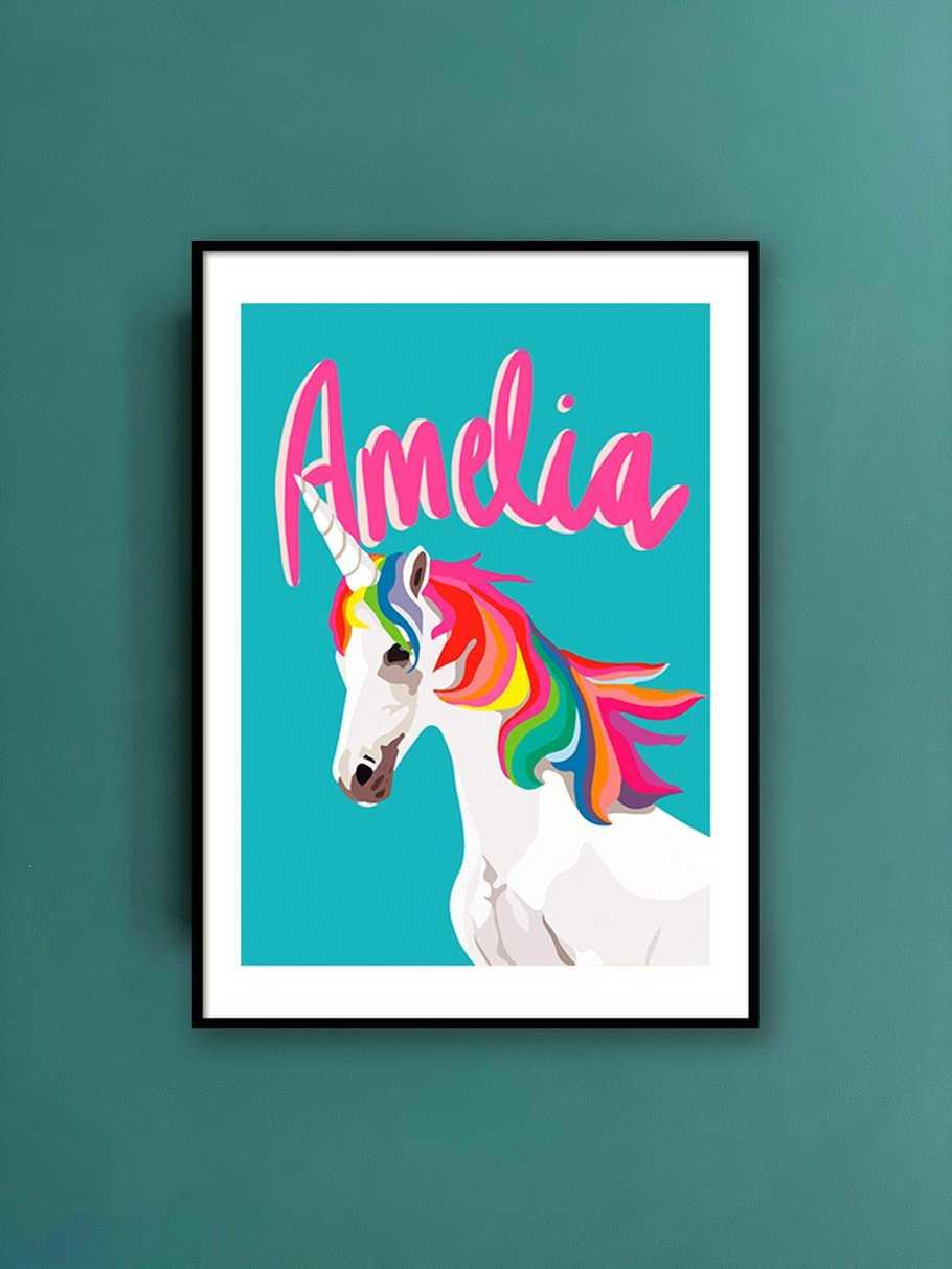 personalised-print-unicorn