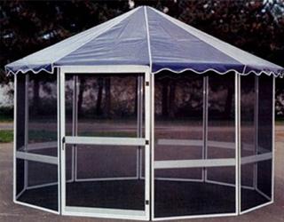 Jardin Octagonal Screen Room