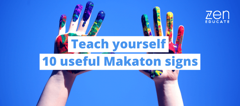 Beginner's Makaton Guide Part 2: Teach yourself 10 useful Makaton signs