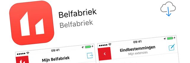 Met gepaste trots kondigen wij de nieuwe versie van onze app voor uw iPhone en iPad aan.
