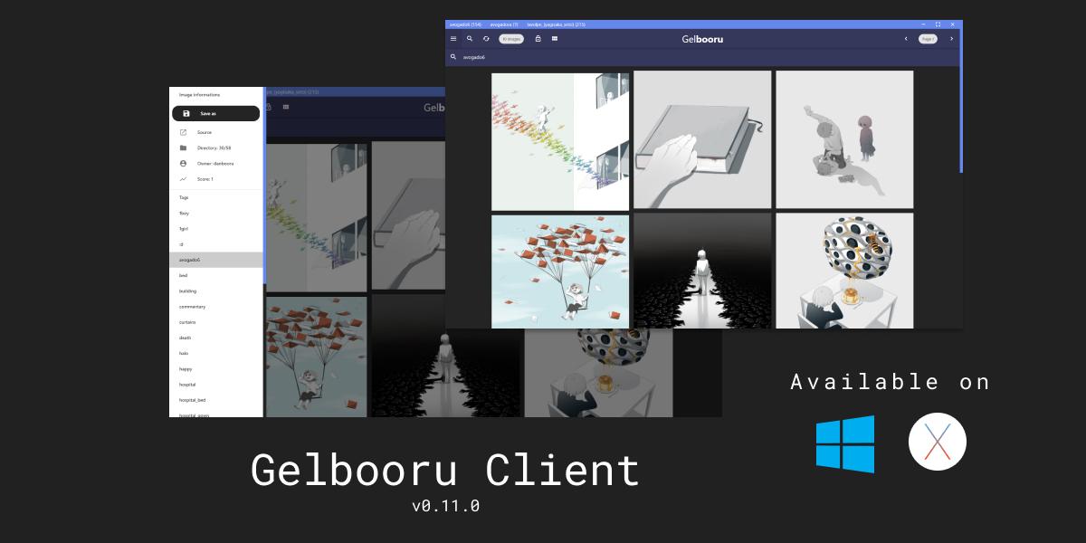 Gelbooru Client link to website