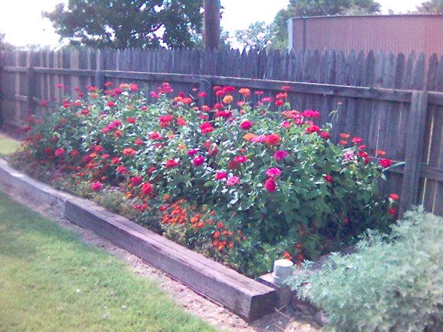 moms flower garden