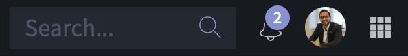 iconik screenshot showing notifications