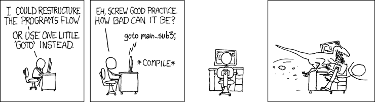 6.10: XKCD's take on the GOTO statement.
