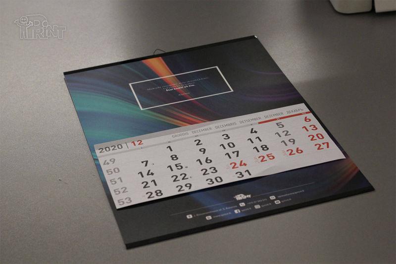 Vienos dalies iPrint kalendoriai