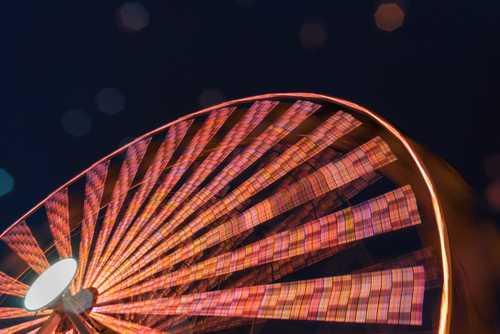 Oslo Holiday Market Ferris Wheel