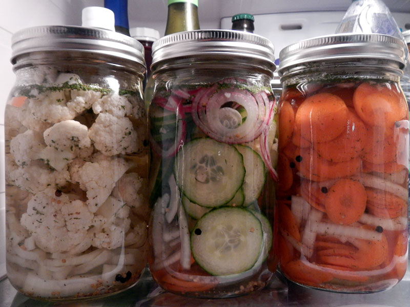 Vegetable Refrigerator Pickles