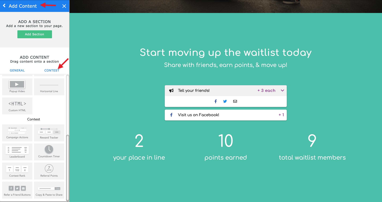 improved rewards widget