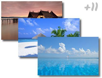 Bahamas Beach theme pack