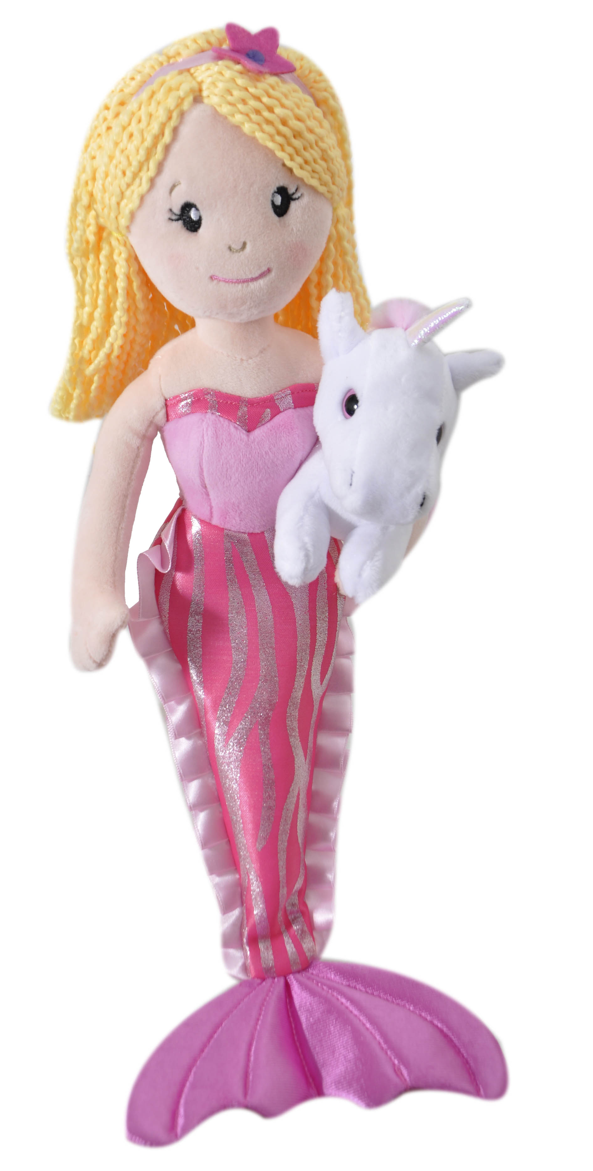 "The Petting Zoo: 17"" Mermaid with Unicorn Assortment"