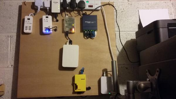 The previous server setup