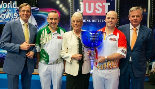 Judy Potter talks World Bowls and her collection of jackets!
