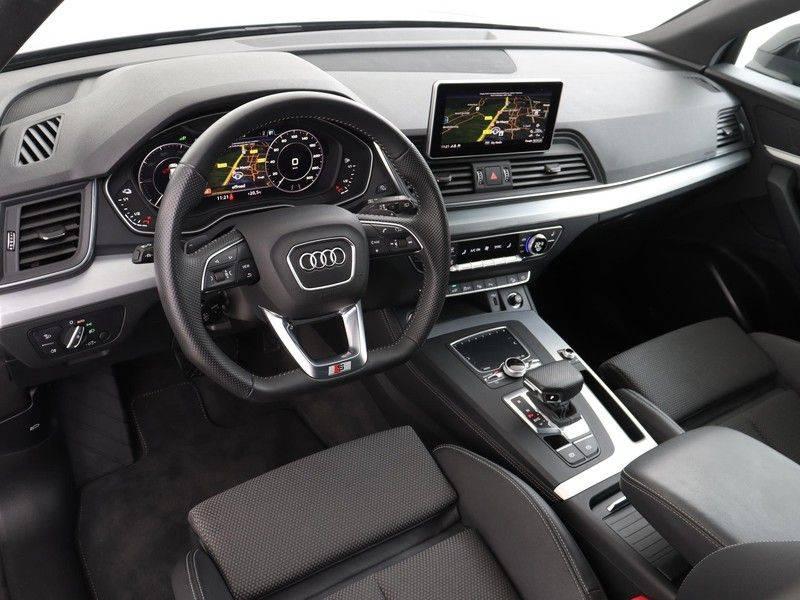 Audi Q5 50 TFSI e 299 pk quattro S edition   S-Line   Elektrisch verstelbare stoelen   Trekhaak wegklapbaar   Privacy Glass   Verwarmbare voorstoelen   Verlengde fabrieksgarantie afbeelding 2