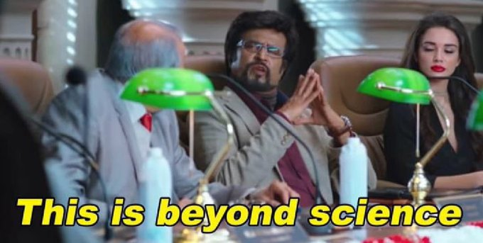 Rajinikanth in 2.0 This is Beyind Science