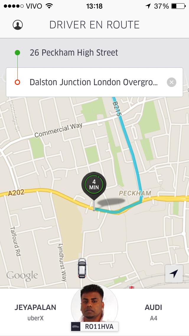 Uber Bug 2
