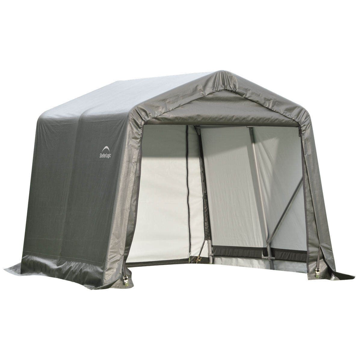 8x12x8 Round Shelter Green Colour