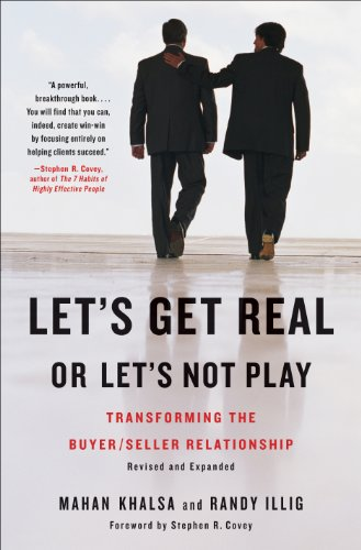Let's get real or let's not play book