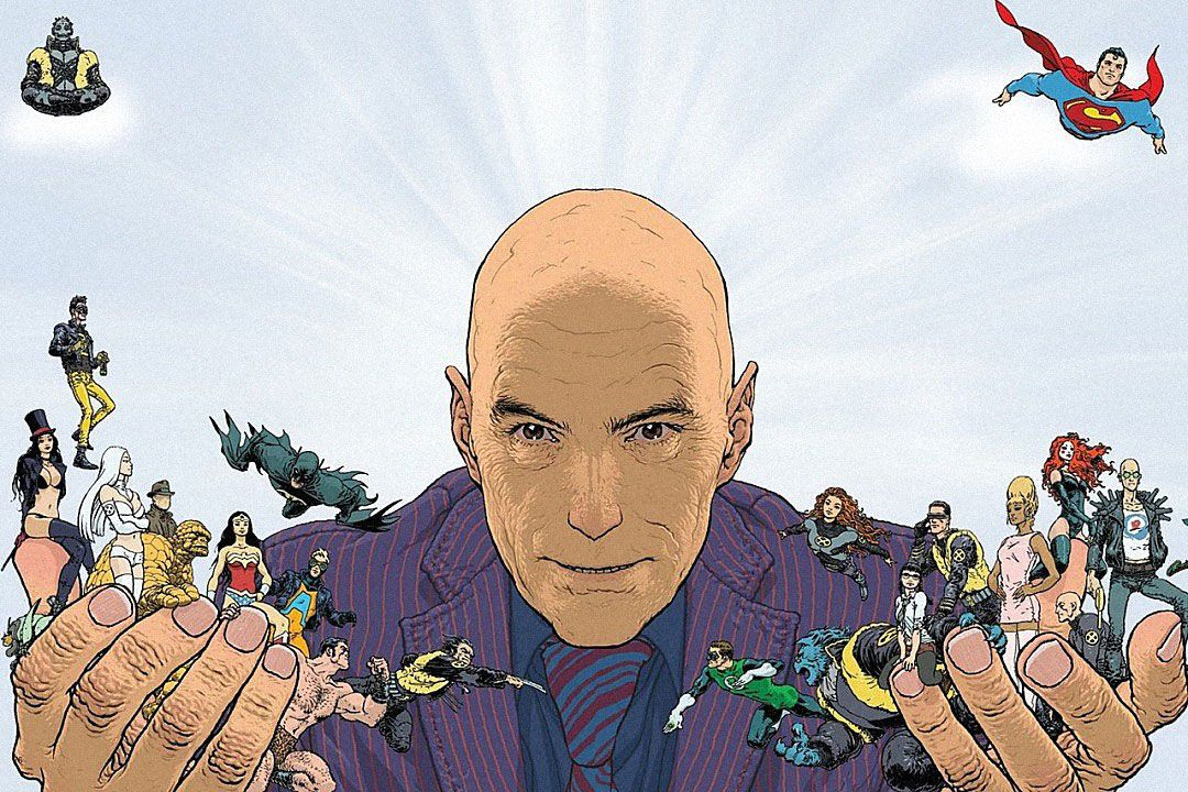 Грант Моррисон иего герои. Источник: comicsalliance.com