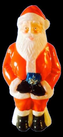Santa With Present photo