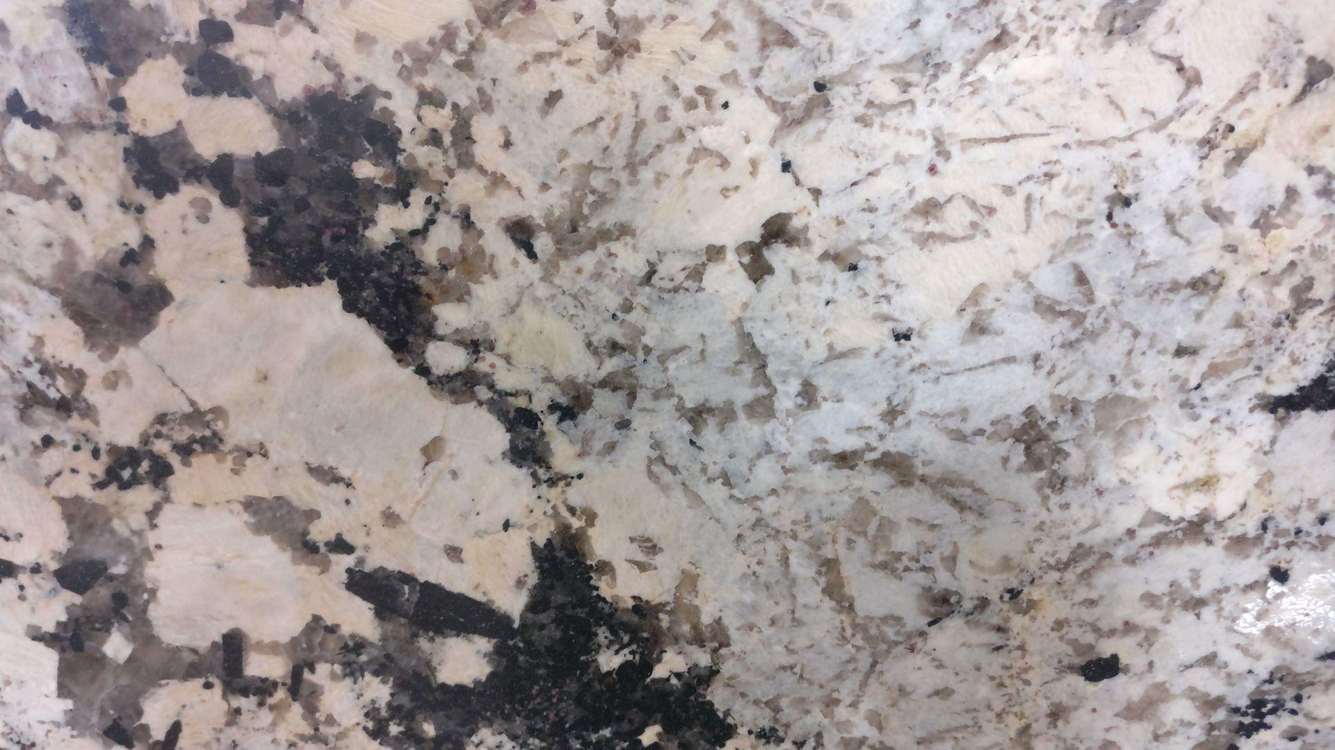 Alaskino white granite