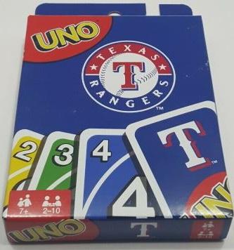 Texas Rangers Uno (2017)