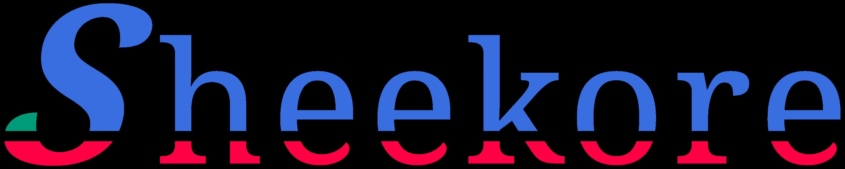 Sheekore full colored logo.