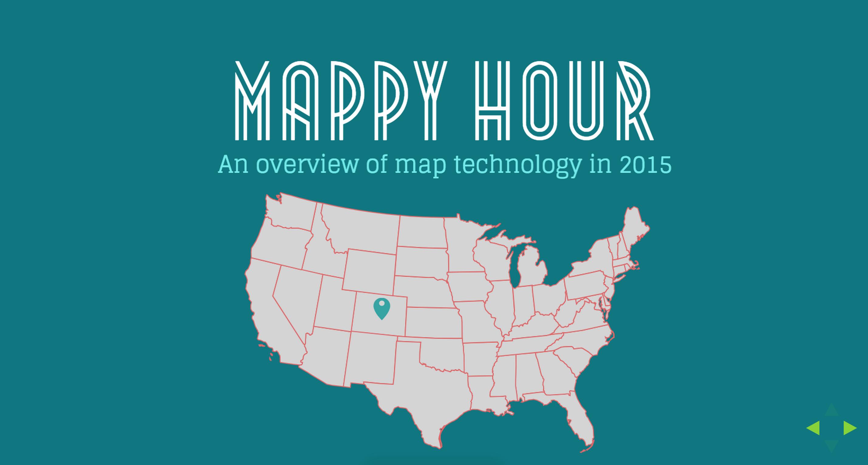 Web Map Basics Presentation from DENstartup Week