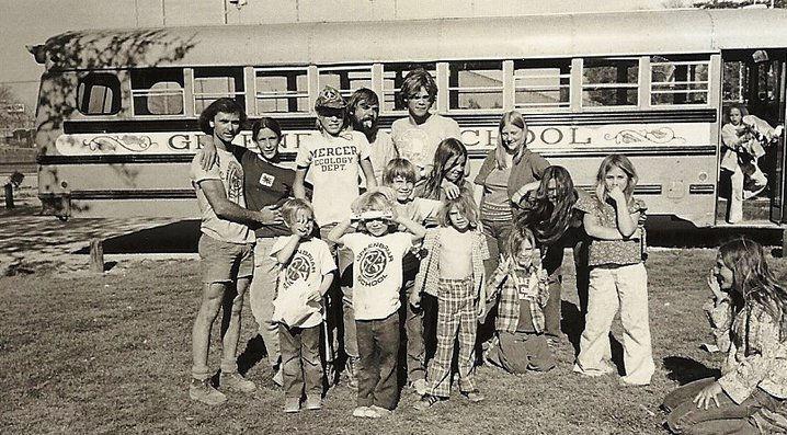 Greenbriar School Bus 1970s