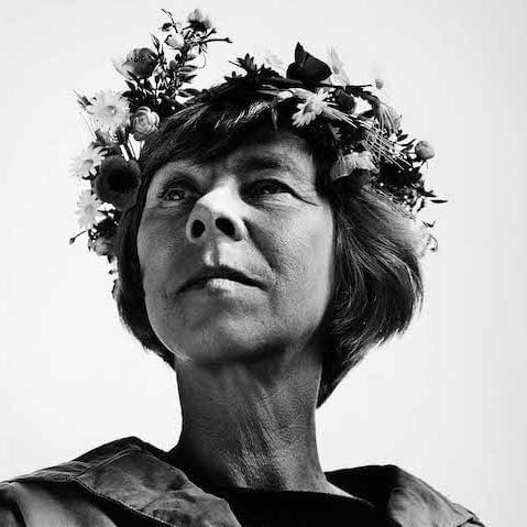 Туве Янссон. Фото: Hans Gedda, 1967