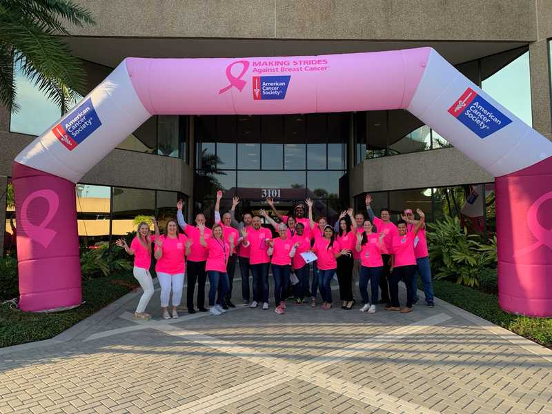 "Ultimate Medical Academy Brings Nation's Largest Team to ""Making Strides Against Breast Cancer"" Effort"