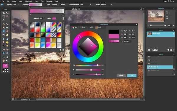 Pixlr Image editing tool