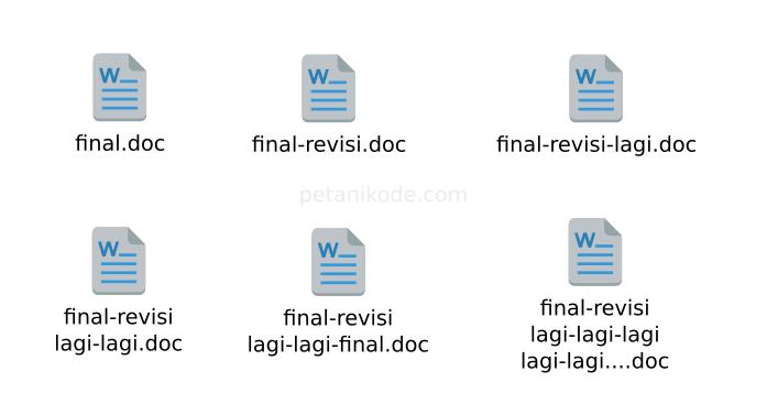 Revisi File tanpa Git