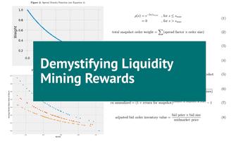 Demystifying liquidity mining rewards