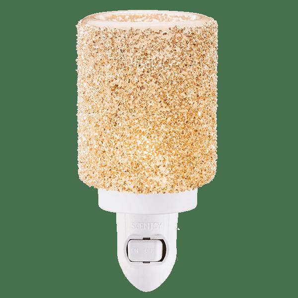 Glitter Silver Mini Warmer