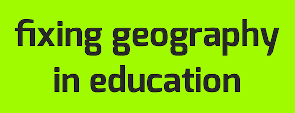 Fixing Geography in Education