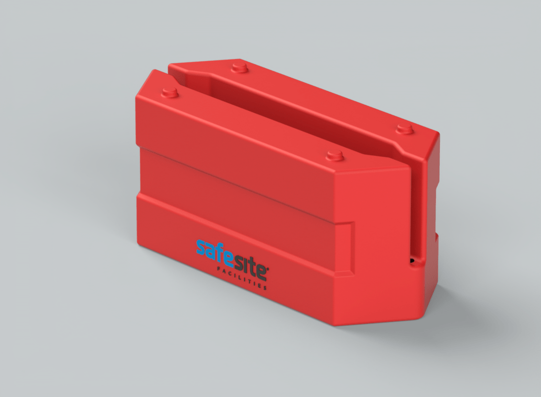 Rota Block Mini Barrier Red