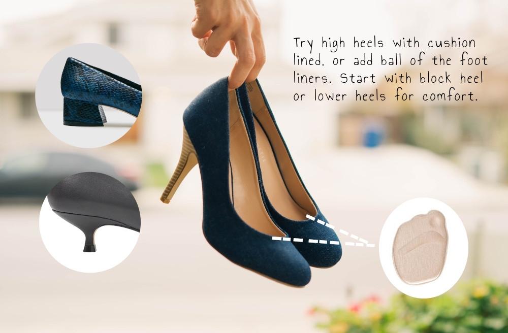 high heel problems
