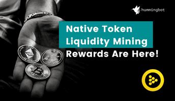 Introducing native token liquidity mining rewards!