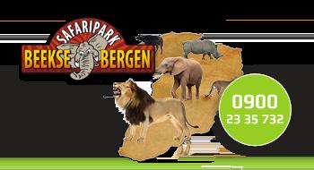 Safaripark Beekse Bergen gebruikt een 0900-nummer.