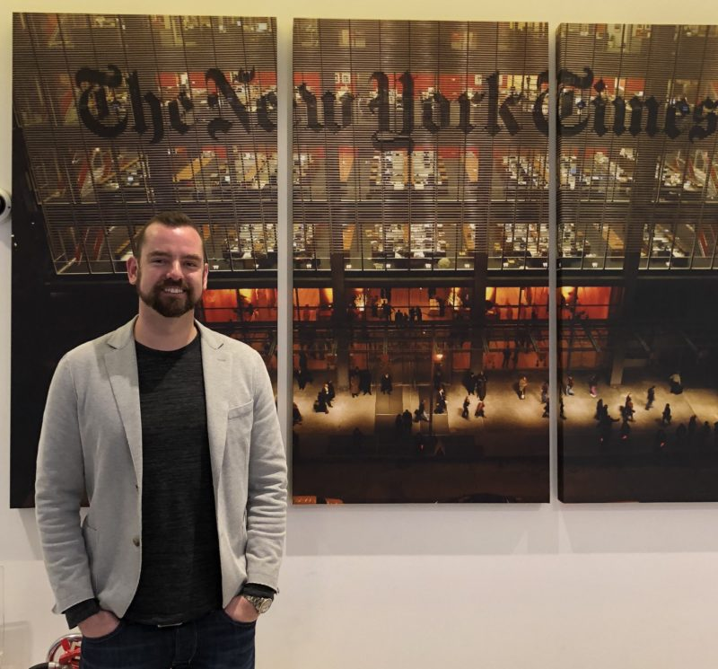 This Place invited to be a guest speaker at New York Times Digital Labs series