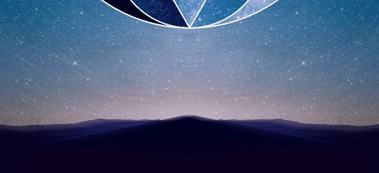 The background layer is mixed with the blurred layer bring more detail to the stars and the horizon