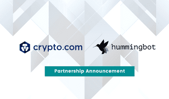 Hummingbot partners with Crypto.com exchange for high frequency trading and liquidity mining