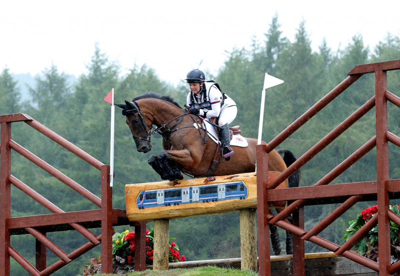 Why ex-racehorses make great eventers